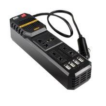 200W Mini Car Vehicle Inverter DC 12V to AC 220V USB Output High-power Power Inverter Small Car Special Edition