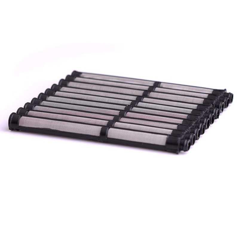 10Pcs 에어리스 스프레이 Gu N 필터 Gracos 에어리스 페인트 스프레이 Gu N 전동 공구 용 4.3 인치 60 교체 메쉬 필터
