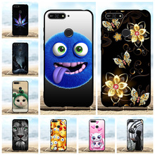 For Huawei Y6 2018 Y6 Prime 2018 Case Soft TPU 5.7 inch For Huawei Honor 7A 7A Pro Cover Cute Pattern For Huawei Enjoy 8e Funda все цены