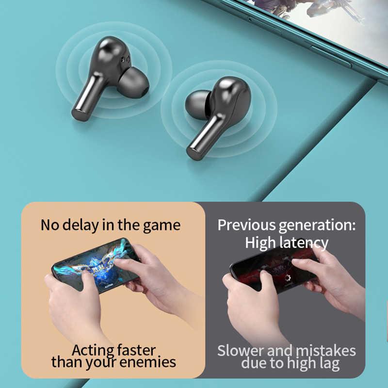 Ubeamer Nirkabel Bluetooth Headphone Stereo Tahan Air Earphone Di Telinga dengan Mic Headset Suara Premium Deep Bass untuk Gym Olahraga