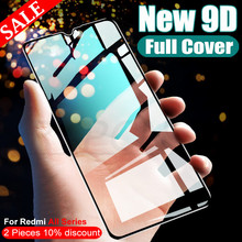 9D 9H Protective Glass on Redmi 8 8A 7 7A 6 6A Film Screen Protector For Xiaomi Redmi Note 8T 7 8 9 Pro Max Tempered Glass Case
