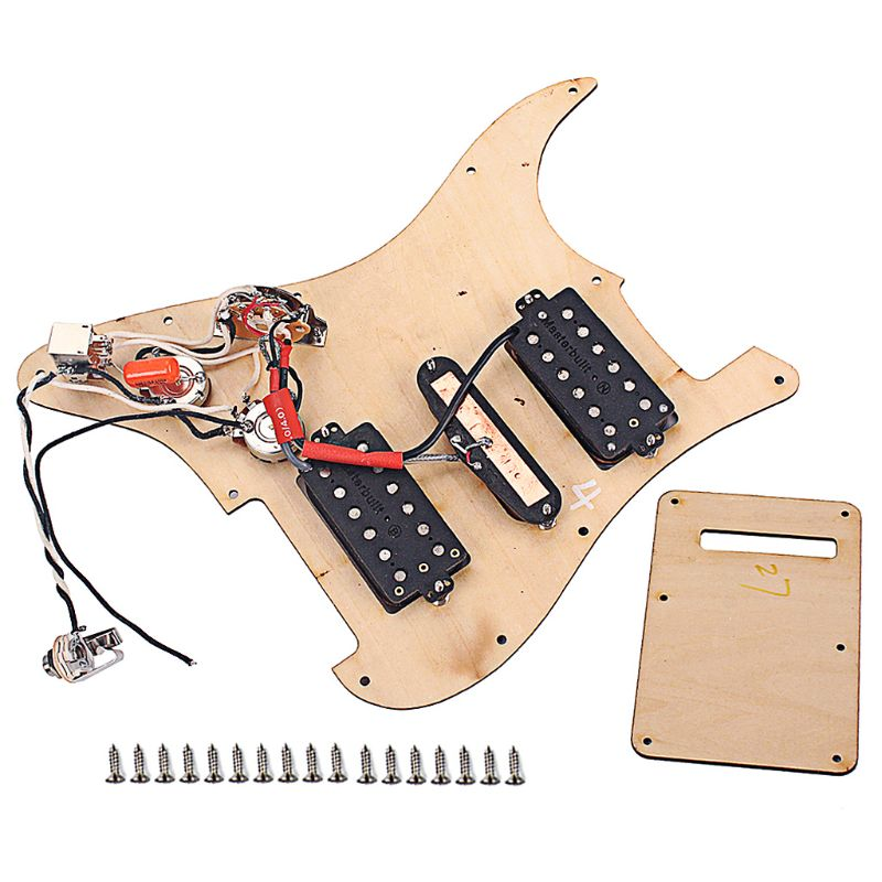 Yibuy 20 Pieces Black Dual Hot Rail Humbucker Guitar Neck Pickup 4 Wire - 4