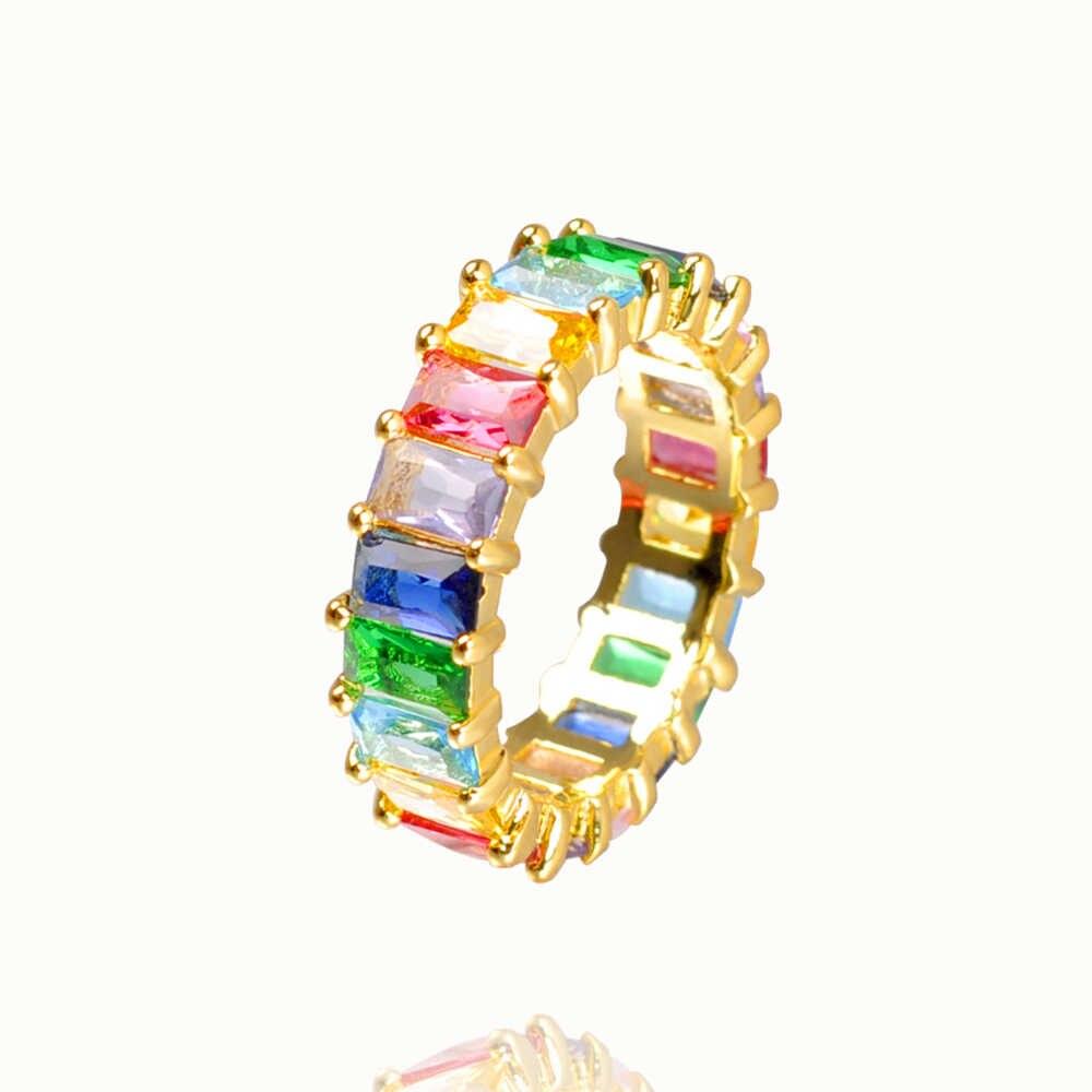 סתיו סגנון קשת טבעת זהב זירקון אישה של טבעת יוקרה מתכוונן אירוסין טבעת מסיבת טבעת תכשיטים לנשים מתנה