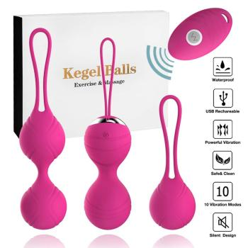 Silicone Kegel Balls Exercises Beads Vaginal Simulator Vibrating Egg Remote Control Chinese For Women Sex