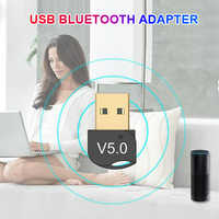 Bluetooth Adapter USB Dongle for Computer PC Wireless USB Bluetooth Transmitter 5.0/4.0 Music Receiver Bluetooth Adapter