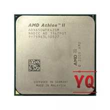 Amd athlon ii x4 650 3.2 ghz duad-core processador cpu adx650wfk42gm soquete am3