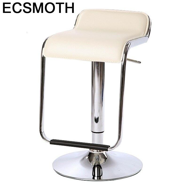 Sedia Stoel Taburete Sgabello Sandalyeler Hokery Barstool Table Stoelen Cadir Leather Stool Modern Silla Cadeira Bar Chair
