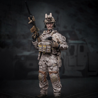 Surwish 1/6 30cm Soldier Model Realistic Headsculpt DIY Movable US armygreen Navy Seals Military Figure Model Toy Adult Gift