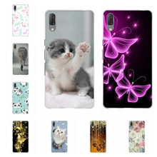 For Sony Xperia L3 Case Ultra-slim Soft TPU Silicone Cover Cute Animal Patterned Funda