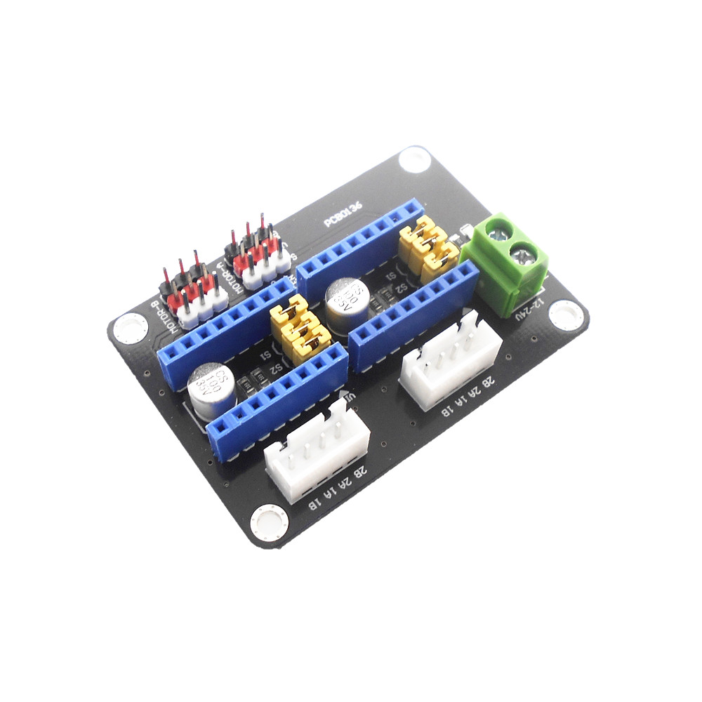 3D Printer Accessories Dual 42 Stepper Motor Driver Expansion Board A4988 DRV8825