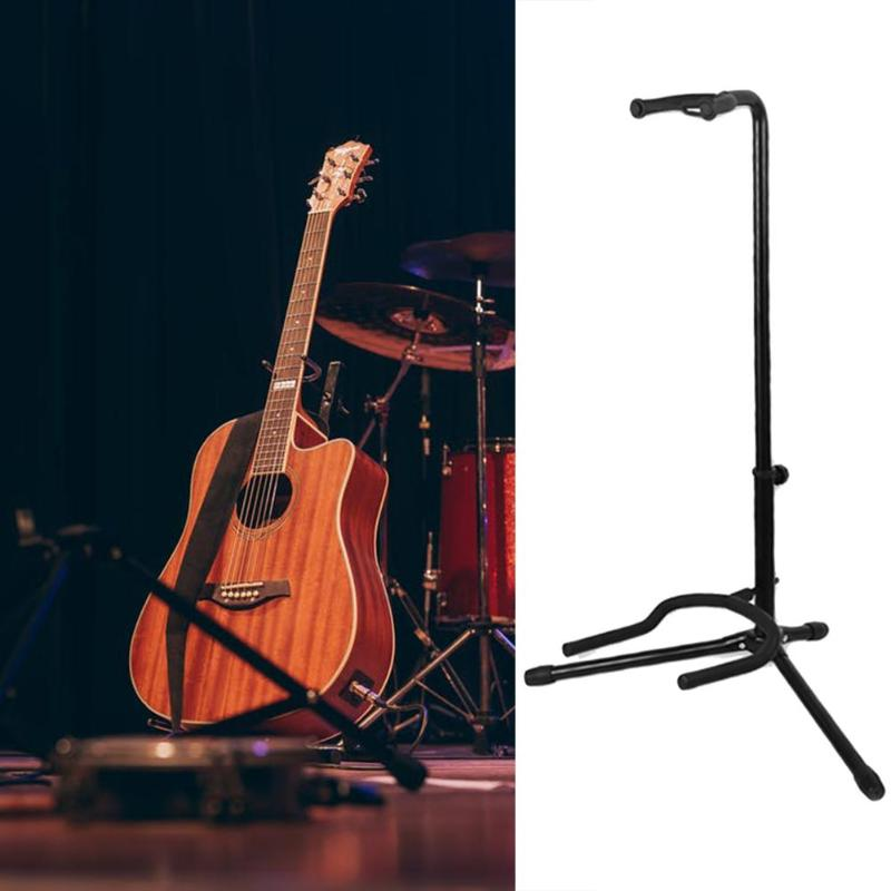 Hot Sale Guitar Stand Delicate Design Musical Instrument Guitar Stand Lute Electric Guitar Rack Bass Display Bracket