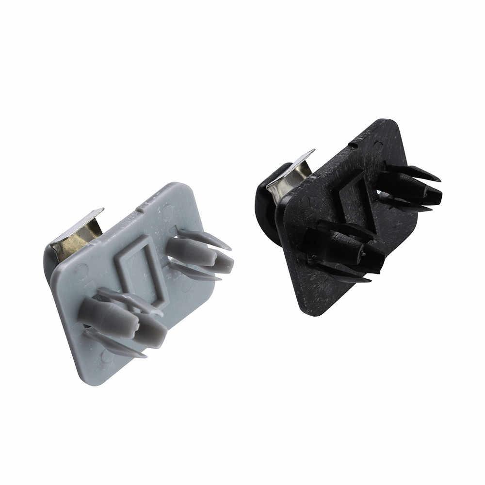 1Pcs Auto Dak Zonneklep Gesp Clip Houder Haak Stand Beige/Grijs Zonder Cover Voor Audi A1 A3 s3 A4 S4 A5 S5 Q3 Q5 Tt # N
