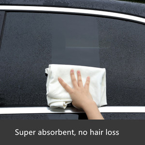Image 3 - 60x90CM Chamois Leather Car Washing Towels Super Absorbent Car Home Glass Kitchen Drying Cleaning Cloth Quick Dry car wash towel