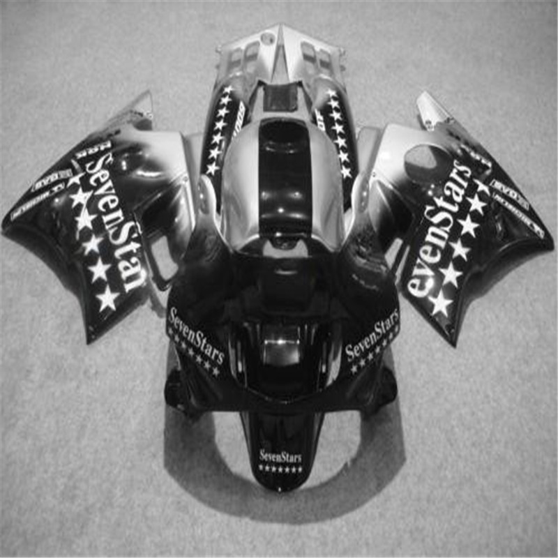 Personnalisé corps réparation carénages pour Honda noir blanc 1993 1994 CBR 600 F2 1991 1992 CBR600 F 91 92 93 94 CBR600 F2 kits de carénage