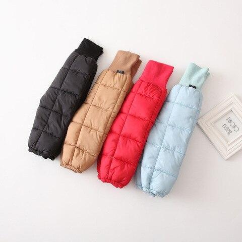 baixo algodao da crianca calcas menino calcas de neve criancas roupas