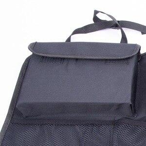 Image 3 - Car Trunk Organizer Adjustable Backseat Storage Bag Net High Capacity Multi use Oxford Automobile Seat Back Organizers Universal