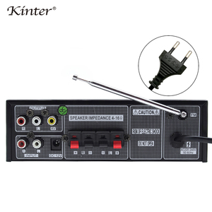 Image 4 - Kinter M1 home amplifier 2Channel  USB SD FM MIC input Support audio and video playing through  a player keep stereo sound