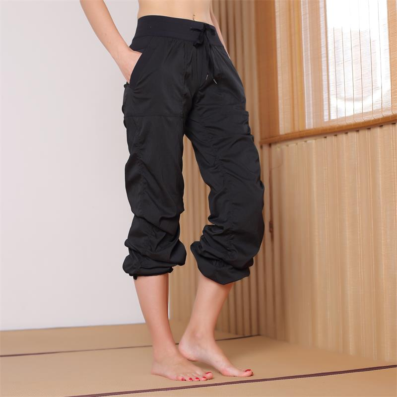 NWT Gym Boot Cut Capris Power Flex Wide Leg Yoga Pants Tummy Control Workout Running Exercise Trousers 4 Way Stretch