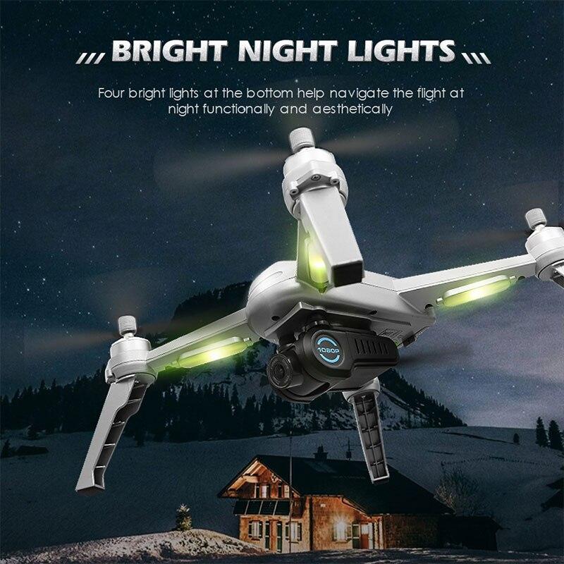 Новый gps, беспилотные летательные аппараты с Камера HD 1080P Профессиональный RC FPV WI FI 6 осевой селфи гоночный Дрон складной автоматический возв... - 6