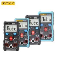 ZOYI ZT-S1/ZT-S2/ZT-S3/ZT-S4 4000 recuentos  rango automático  valores eficaces auténticos  multímetro Digital LCD con retención de datos NCV y retroiluminación LCD
