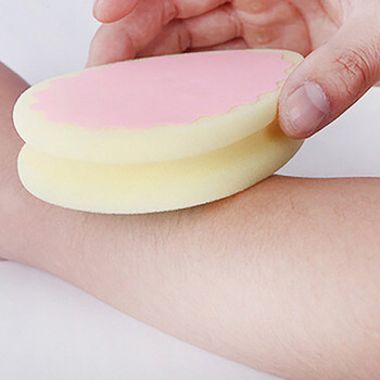 1 ud. Esponja removedora de pelo, esponja mágica para depilación indolora, almohadilla de esponja para depilación, elimina el pelo, eliminador eficaz, artefacto para depilación