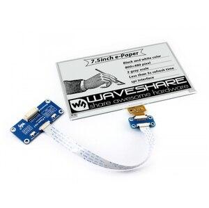 Image 2 - Waveshare écran de papier électronique 800x480 pouces, compatible avec Raspberry Pi STM32, deux couleurs, Ultra faible consommation dénergie