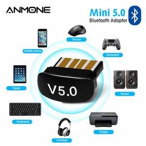 Размер 5,0, включающим в себя гарнитуру блютус и флеш-накопитель Usb адаптер для ПК аудио передачи файлов Мини компьютер лаптопы рецептор USB ад...