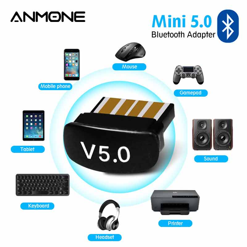 Wahre 5,0 Usb Bluetooth Adapter für Pc Audio Datei Transfer Mini Computer Laptops USB Rezeptor Dongle Bluetooth 5 Sender