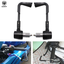 Motorcycle Handlebar Brake Clutch Levers Protector Guard 22mm Aluminum Handle Protects Accessories