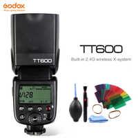 Godox TT600 TT600S 2.4G Wireless Camera Photo Flash speedlight with Built-in Trigger for Canon Nikon Pentax Olympus Fuji SONY