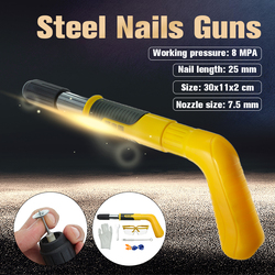 Rivet Gun Tufting Gun Manual Steel Nails Guns Rivet Tool Concrete Steel Wall Anchor Wire Slotting Device Decoration Power Tools