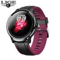 2019 nouvelle montre intelligente hommes femmes LED plein écran tactile Sport Bracelet pression artérielle fréquence cardiaque Sport Smartwatch activité Tracker
