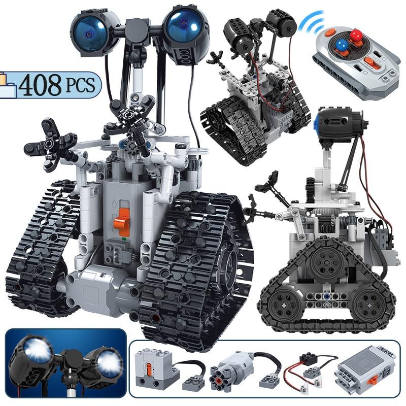 408PCS RC Robot Electric Remote Control Intelligent Robot Bricks Toys For Boys