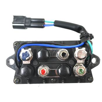 Motorcycle Starter Relay Solenoid Electrical Switch for YAMAHA OUTBOARD MOTORS F-25 HP F-40 HP F-50 HP F-60 HP F-75 HP F-90 HP фото