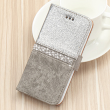 Bling Glitter Wallet Phone Case For iPhone