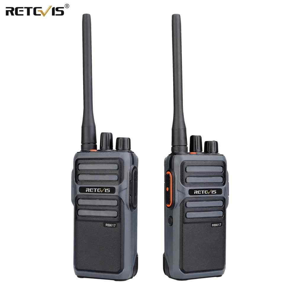 Chape RB17/RB617 talkie-walkie 2 pièces Portable Radio bidirectionnelle UHF Station de Radio PMR446 FRS talkie-walkie VOX type-c charge