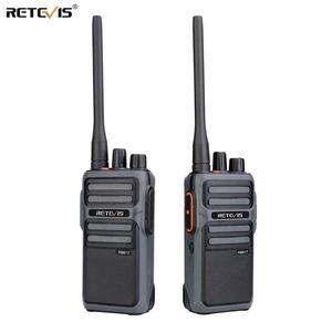 Image 1 - RETEVIS RB17/RB617 Walkie Talkie 2pcs  Portable Two  Way Radio UHF Radio Station PMR446 FRS Walkie talkie VOX  Type C Charging