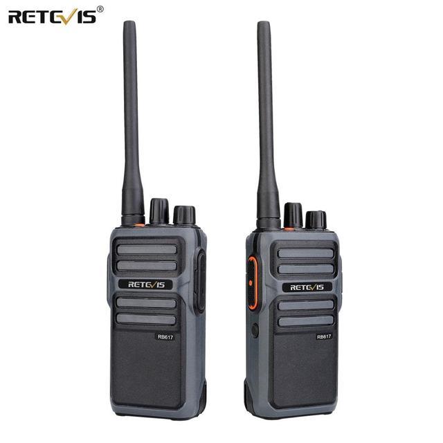 RETEVIS RB17/RB617 Walkie Talkie 2pcs  Portable Two  Way Radio UHF Radio Station PMR446 FRS Walkie talkie VOX  Type C Charging