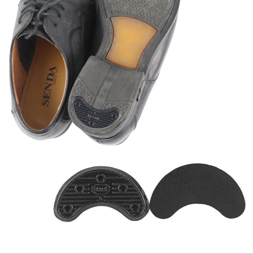 1Pair Horseshoe-shaped Stickers Heel Sticker Sole Slip Repair Shoe Material