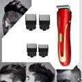 KEMEI KM-1409 триммер для волос из углеродистой стали с вилкой ЕС перезаряжаемая электрическая бритва Мужская бритва для бороды электрическая ма...
