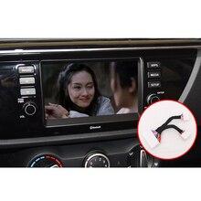 Lsrtw2017 Car GPS Screen Video Wire for Kia Rio X Line Kx Cross K2 Rio Interior Mouldings Accessories 2017 2018 2019 2020 накладки под ручки дверей kx cross для kia rio x line 2017