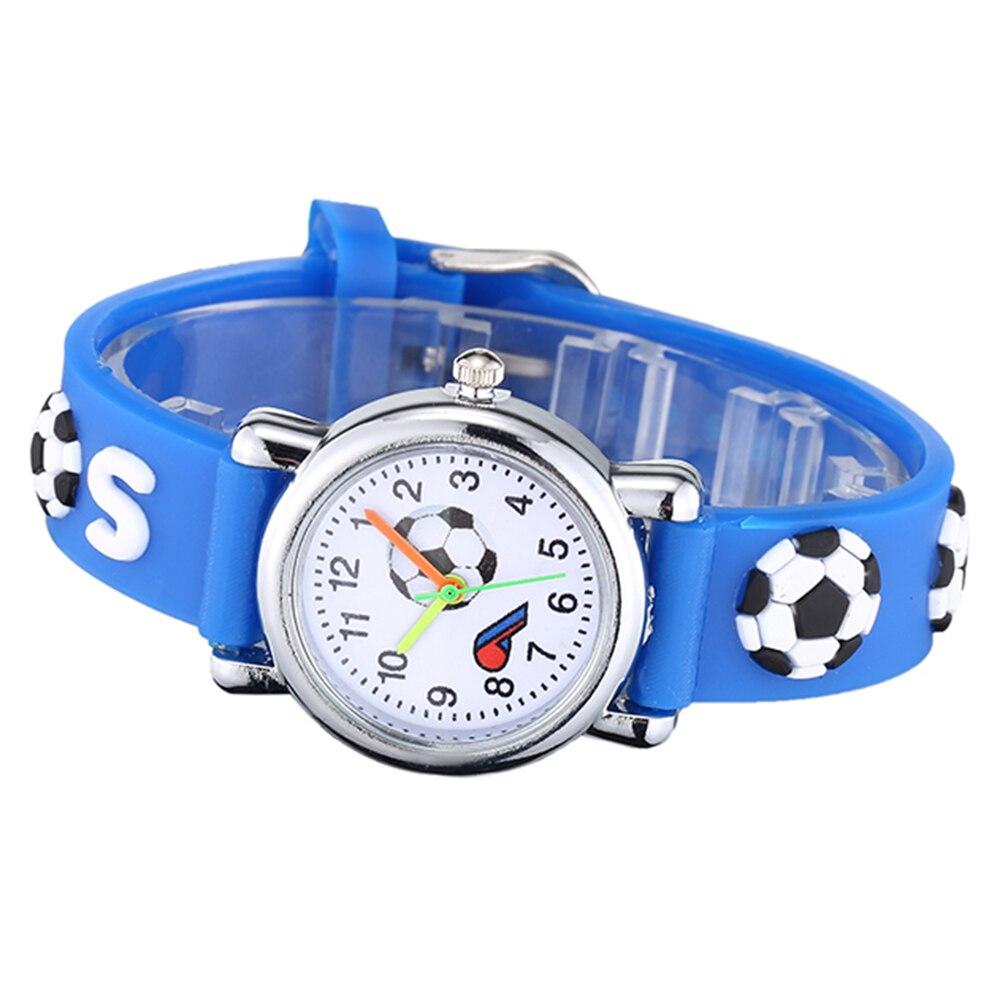 Новинка мода дети часы мальчики мультфильм мяч кварц часы для девочек силикон ремешок браслет дети ребенок часы подарок Montre Enfant
