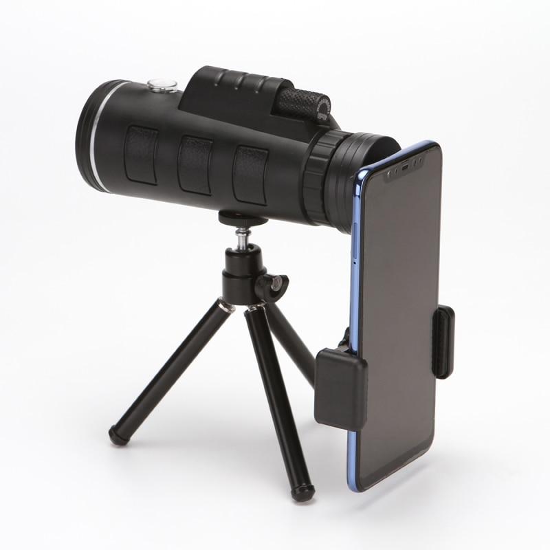 Grand oculaire monoculaire Monoculo télescopio 40X60 pour Camping observation des oiseaux voyage télescope binoculaire à fort grossissement DY005