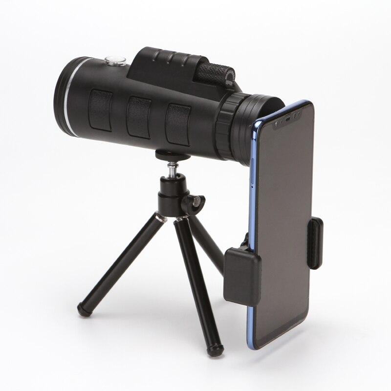 Grande Ocular Monocular telescopio 40X60 Monóculo para Camping Viagem de Observação de Aves de Alta Ampliação telescópio binocular DY005