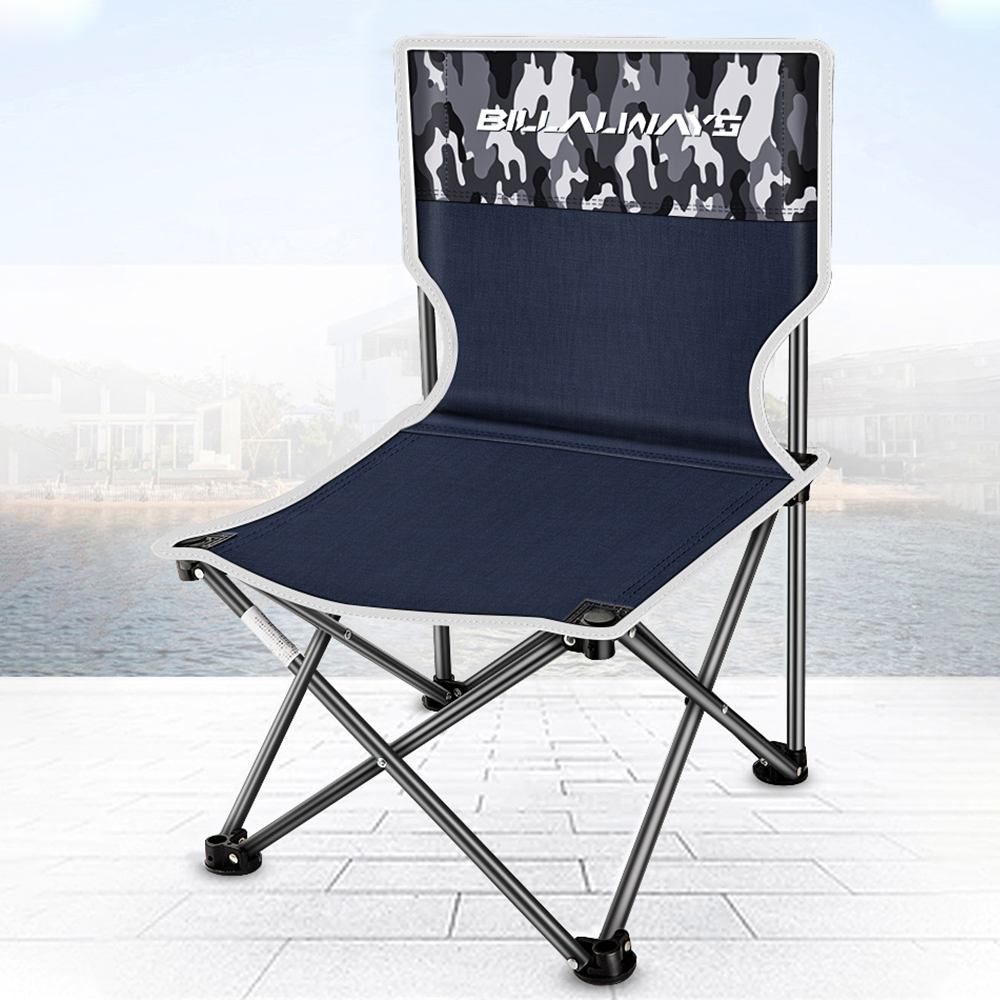 Portable Camping Chairs Foldable Fishing Seat Outdoor Furniture for Camping Fishing BBQ Picnic