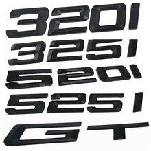 цена на New Car Stickers 3D ABS Decal Badge Emblem Letters Logo For BMW 3-series F30 F31 F34 E90 E46 320i 325i 520i 525i GT Car Styling