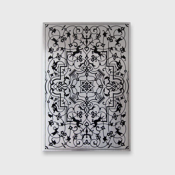 Original BYEARS Vintage Metal Tide Notebook B5 / Creative Drawing Blank Notebook Gift Limited Production 1PCS