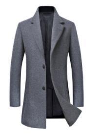 Autumn and winter new double woollen coat for men-
