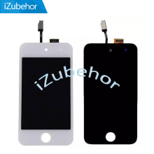 цена на 100% Warranty LCD Display Screen With Touch Screen Digitizer Sensor Assembly For ipod Touch 4 4th LCD By Free Shipping