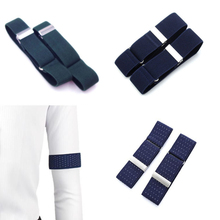 Armband Shirt Sleeve-Holder Accessories for Party-Bar Clothing Adjustable Elastic 1-Pair
